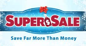 Annual Super Sale on Now!
