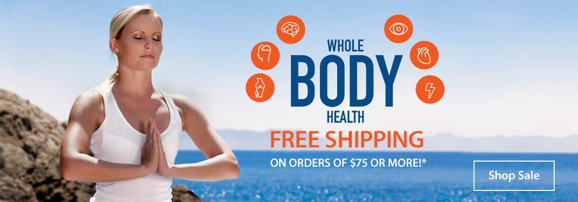 Whole Body Health Sale Ends October 14, 2019