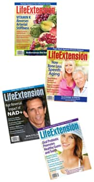 Life Extension Magazine Covers