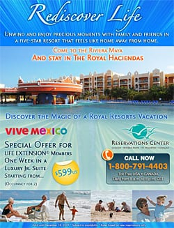 Life Extension Vacations