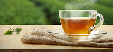 Drinking tea supports a healthy brain
