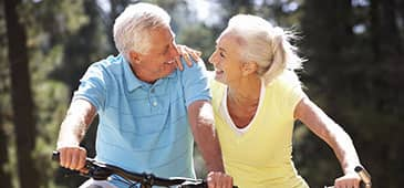 Biologic aging correlates with wellness