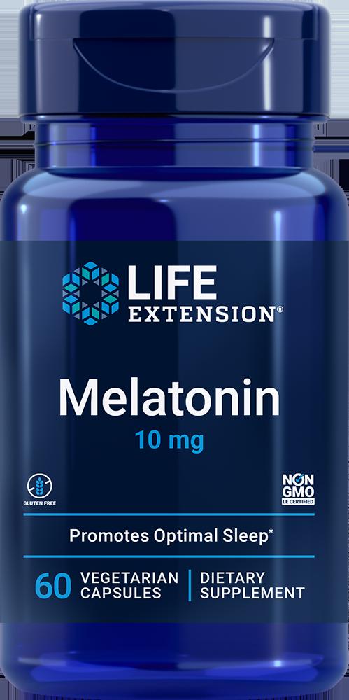 Life Extension Melatonin - 10 mg (60 Capsules)