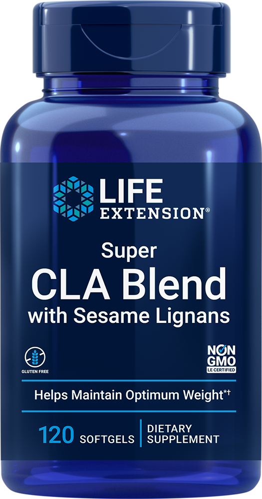 Life Extension Super CLA Blend with Sesame Lignans (120 Softgels)