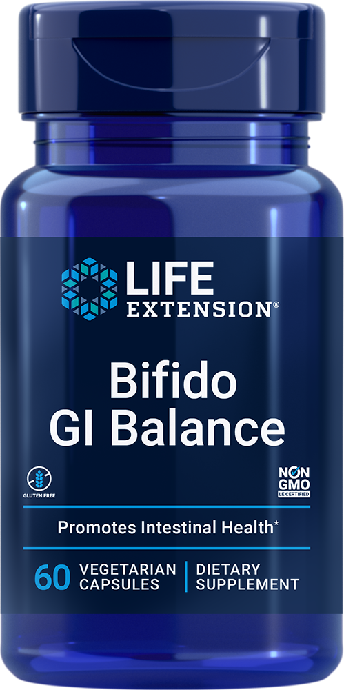 Life Extension Bifido GI Balance (60 Vegetarian Capsules)