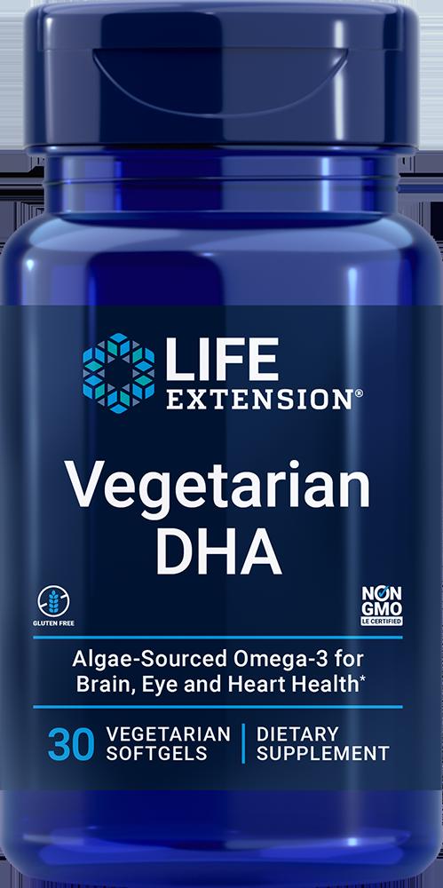 Life Extension Vegetarian DHA (30 Vegetarian Softgels)