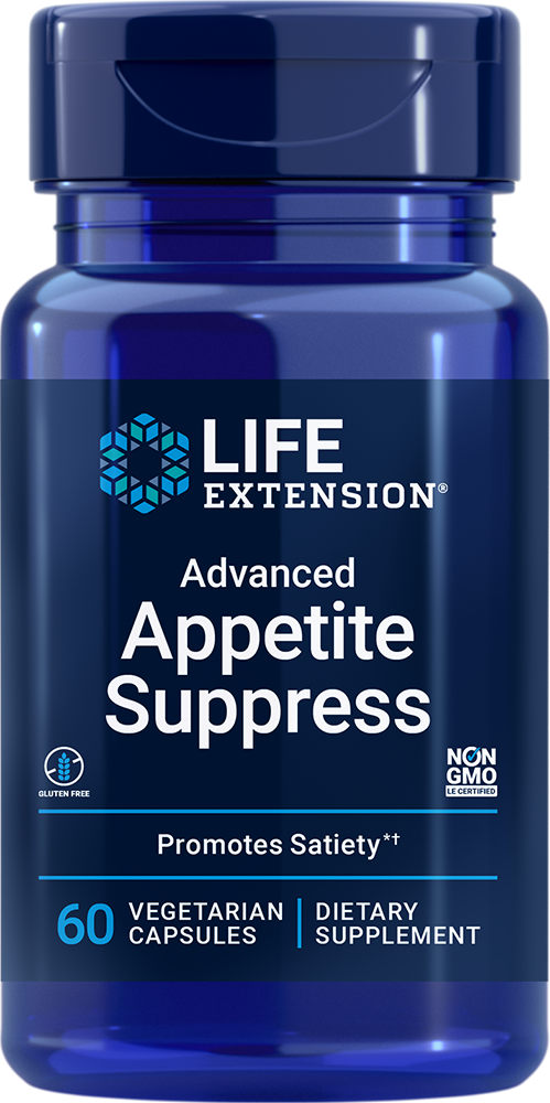 Life Extension Advanced Appetite Suppress (60 Vegetarian Capsules)