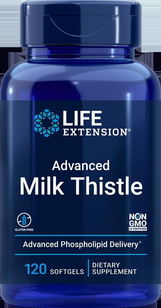 Life Extension Advanced Milk Thistle (120 Softgels)