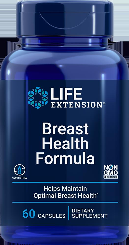Life Extension Breast Health Formula (60 Capsules)