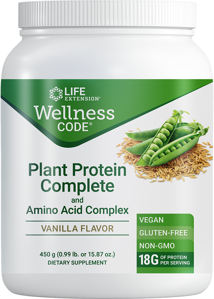 Life Extension Complete Plant Protein Powder