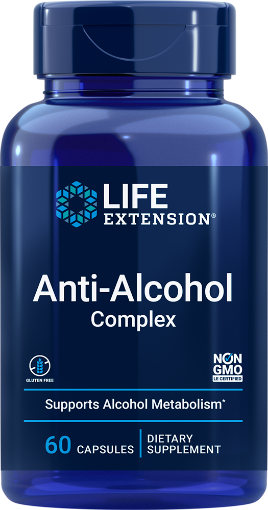 Life Extension Anti-Alcohol Complex (60 Capsules)