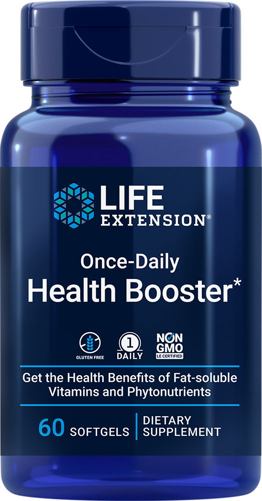Life Extension Once-Daily Health Booster* (60 Softgels)