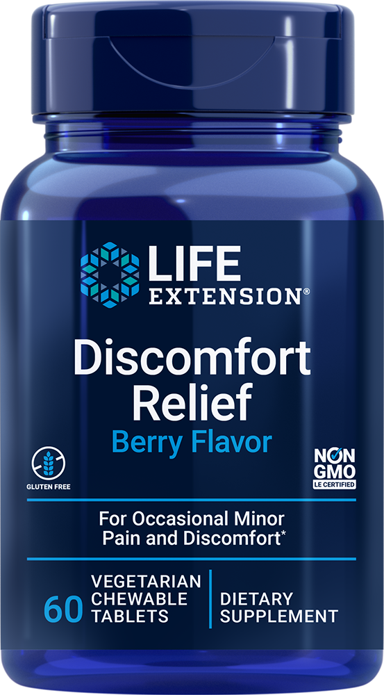 lifeextension.com - Life Extension PEA Discomfort Relief (60 Chewable Tablets) 25.50 USD