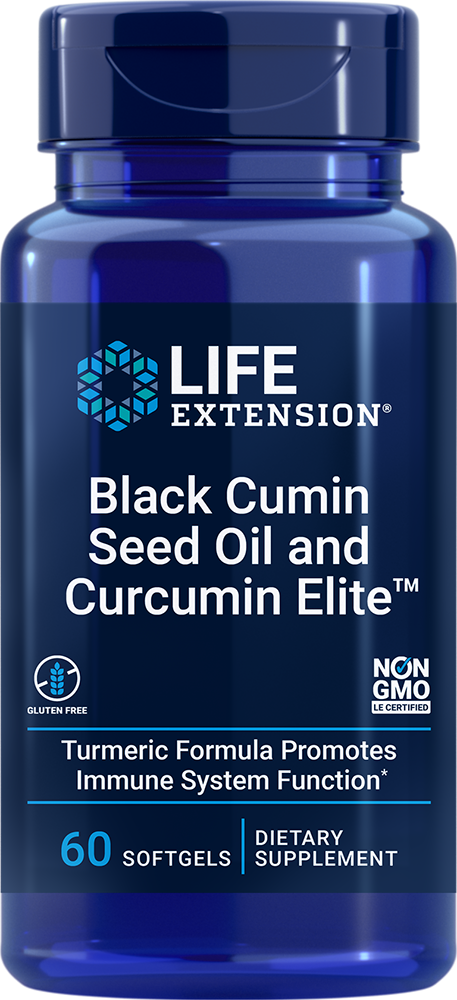 lifeextension.com - Life Extension Black Cumin Seed Oil and Curcumin Elite™ (60 Softgels) 24.00 USD