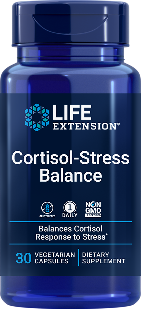 lifeextension.com - Life Extension Cortisol-Stress Balance (30 Vegetarian Capsules) 33.75 USD