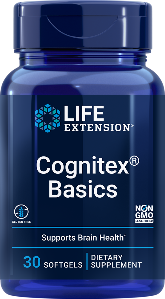 lifeextension.com - Life Extension Cognitex® Basics (30 Softgels) 24.00 USD