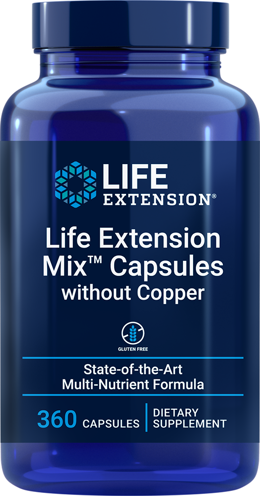lifeextension.com - Life Extension Mix™ without Copper (360 Capsules) 58.50 USD