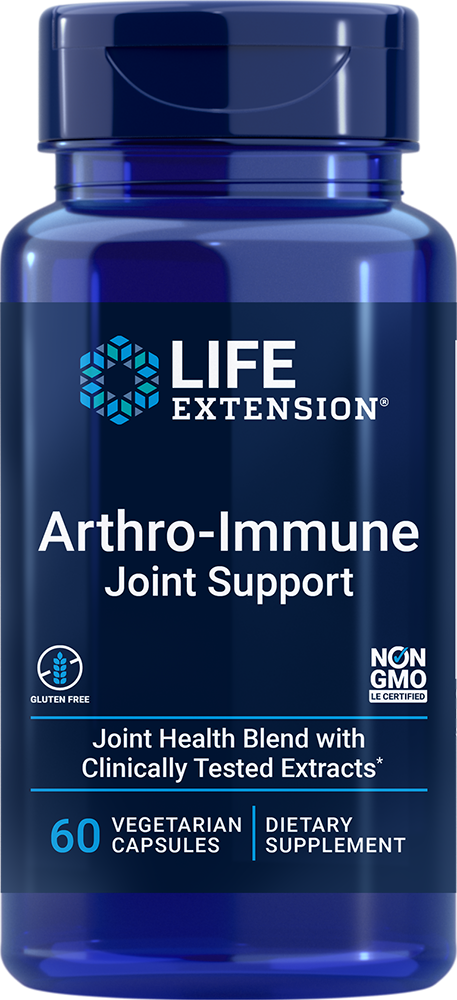 lifeextension.com - Life Extension Arthro-Immune Joint Support (60 Vegetarian Capsules) 24.00 USD