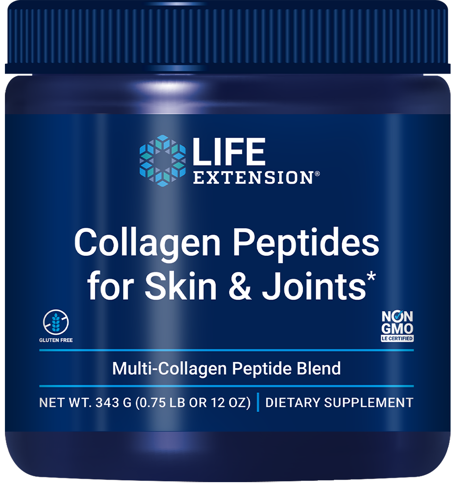 lifeextension.com - Life Extension Collagen Peptides for Skin & Joints (343 Grams) 27.00 USD