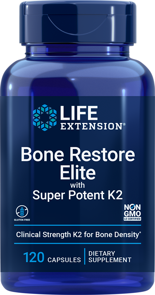 lifeextension.com - Life Extension Bone Restore Elite (120 Capsules) 34.50 USD