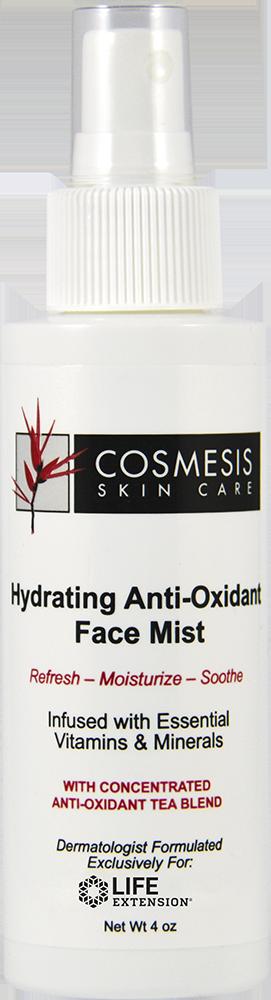 lifeextension.com - Cosmesis Hydrating Anti-Oxidant Face Mist, 4 fl oz 29.96 USD