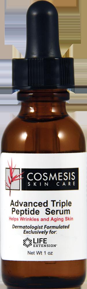 lifeextension.com - Cosmesis Advanced Triple Peptide Serum, 1 oz 48.75 USD