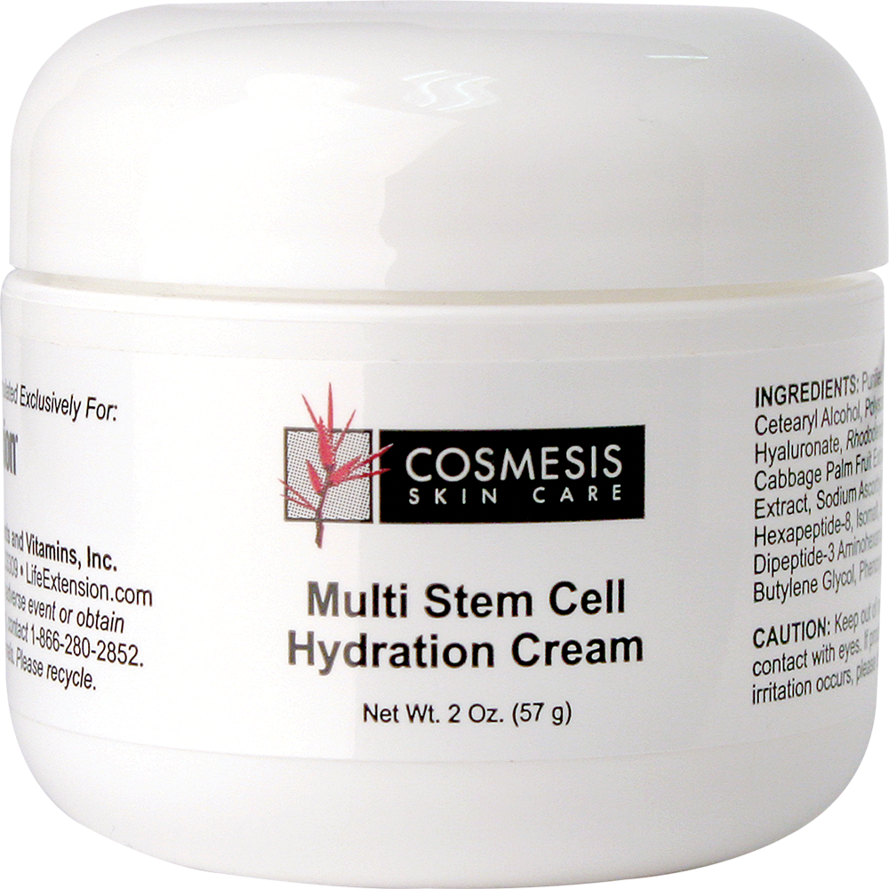 lifeextension.com - Cosmesis Multi Stem Cell Hydration Cream, 2 oz 44.25 USD