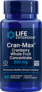 Life Extension Cran-Max� - 500 mg (60 Vegetarian Capsules)