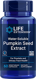 Life Extension Water-Soluble Pumpkin Seed Extract, 60 VeggieC
