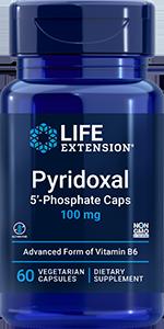 Life Extension Pyridoxal 5'-Phosphate, 60 VeggieC - 100 mg