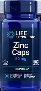 Zinc Caps, 50 mg, 90 capsules