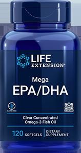 OMEGA FOUNDATIONS� Mega EPA/DHA, 120 softgels