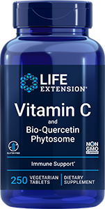 Vit C w/ Bio-Quercetin Phytosome, 250 tablets