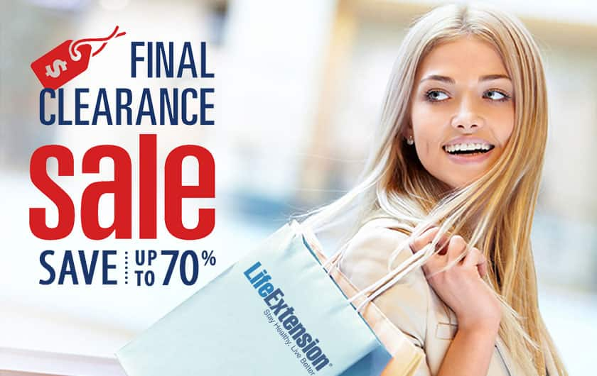 Final Clearance Sale Save up to 70%!