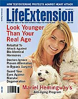 Life Extension magazine June, 2008