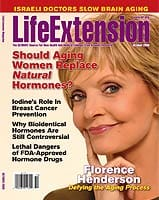 Life Extension magazine October, 2009