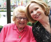 Dr. Ruth with Debra Jo Rupp