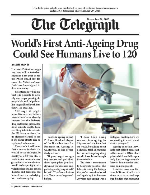 Metformin Wins FDA Approval | Life Extension