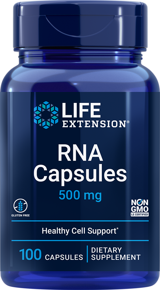 Life Extension RNA - 500 mg (100 Capsules)