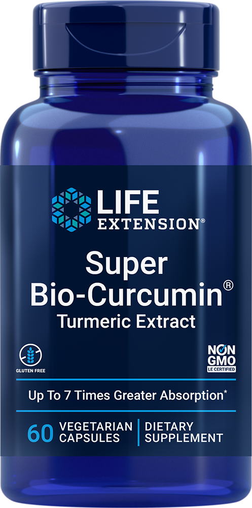 Life Extension Super Bio-Curcumin� Turmeric Extract (60 Capsules, Vegetarian)