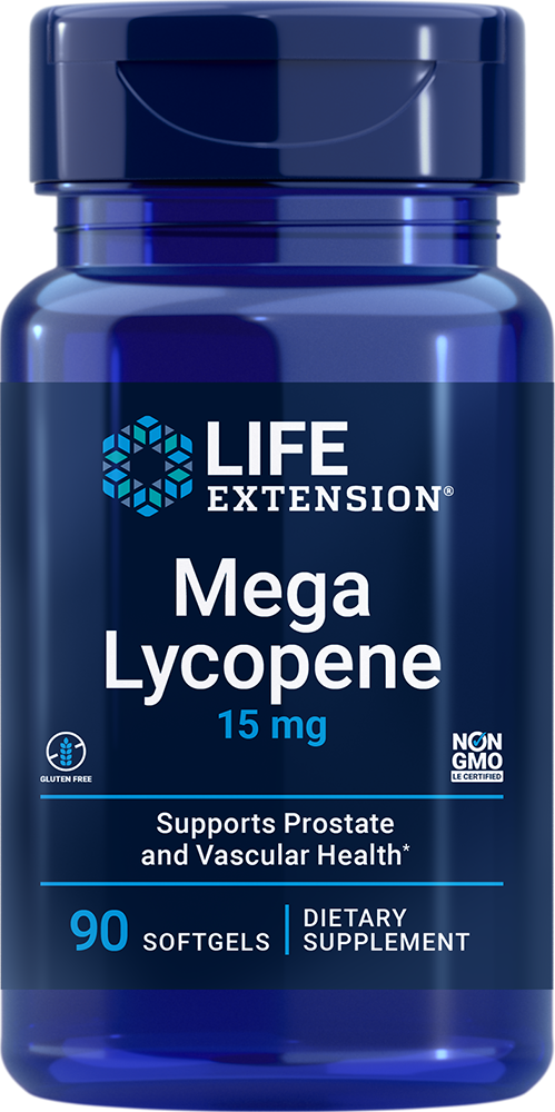Mega Lycopene 15 mg 90 softgels