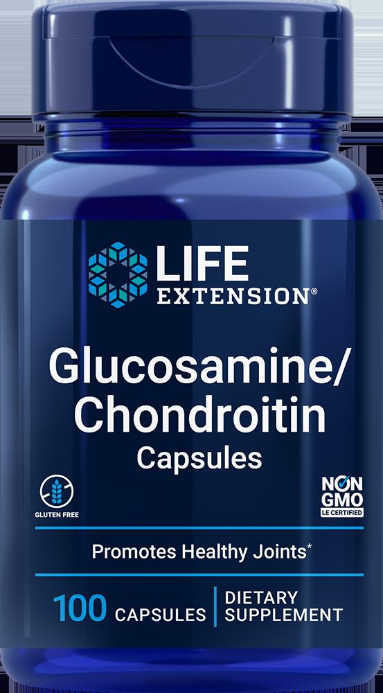 Glucosamine/Chondroitin Capsules, 100 capsules
