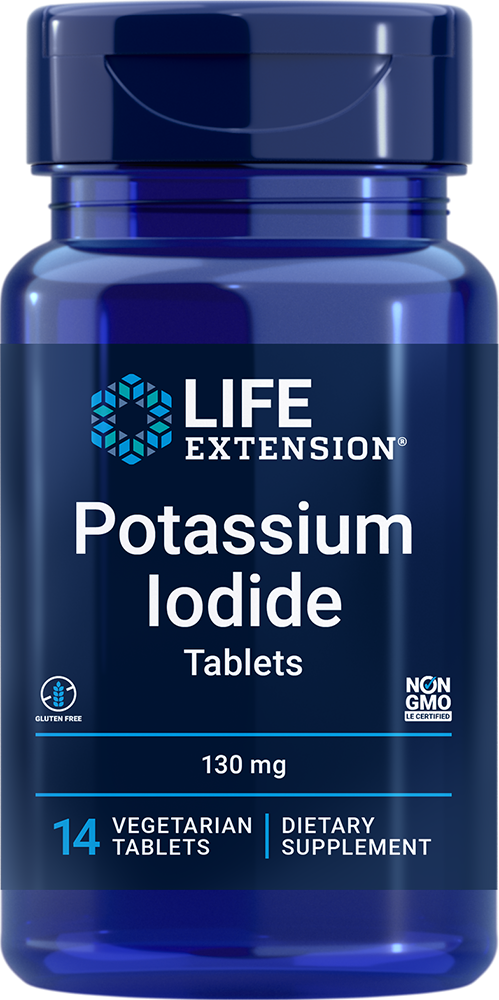 Potassium Iodide , 130 mg 14 tablets
