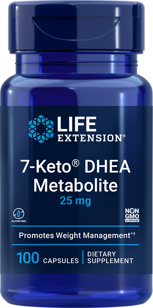 Image of 7-Keto® DHEA, 25 mg, 100 capsules