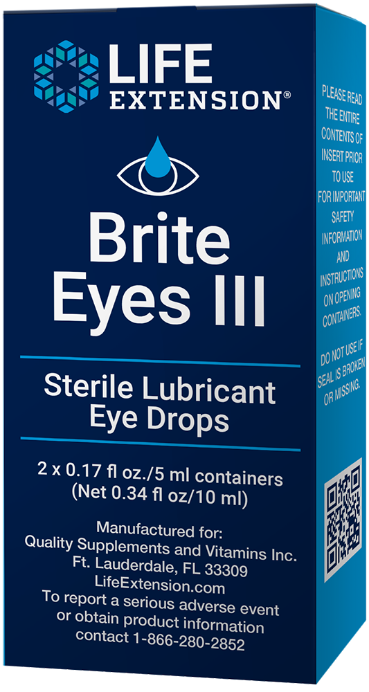 Brite Eyes III, 2 vials (5 ml each)nohtin