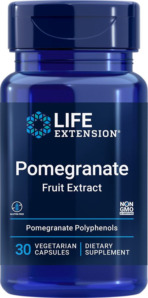 Pomegranate Fruit Extract 30 vegetarian capsules
