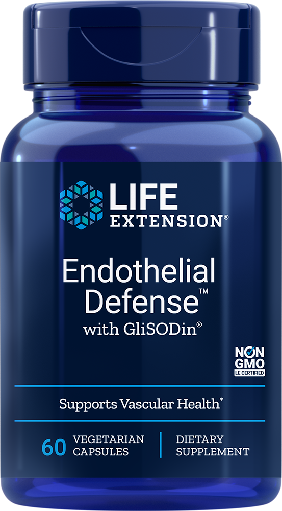 Endothelial Defense with GliSODin, 60 vegetarian capsules