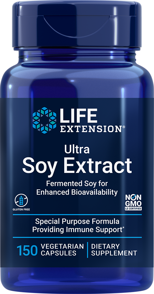 Ultra Soy Extract, 150 vegetarian capsules