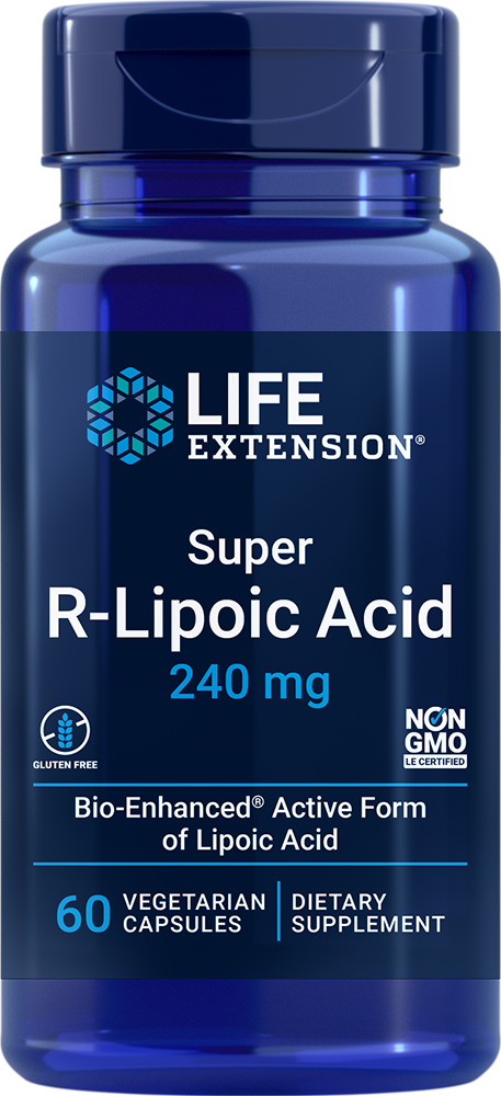 Super R-Lipoic Acid, 240 mg, 60 vegetarian capsules
