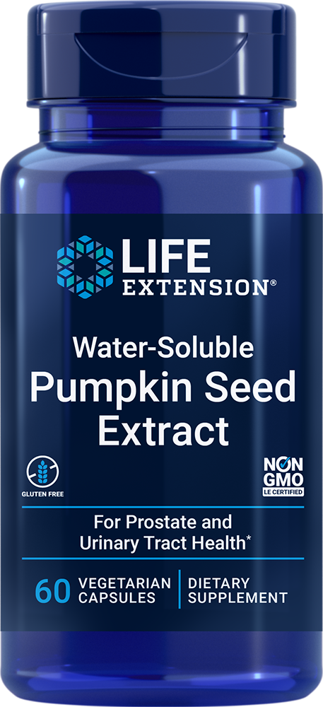Water-Soluble Pumpkin Seed Extract, 60 vegetarian capsulesnohtin